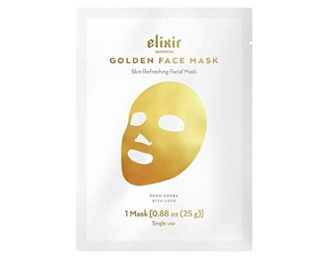 Elixir Cosmetics Gold Face Mask